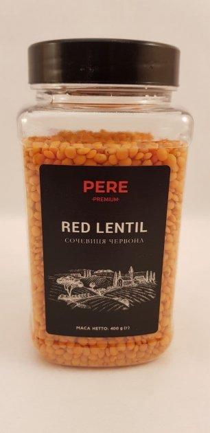 Чечевица красная Pere 400г - изображение 1