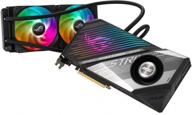 Видеокарта ASUS Radeon RX 6900 XT 16Gb ROG STRIX LC OC GAMING (ROG-STRIX-LC-RX6900XT-O16G-GAMING) - изображение 1
