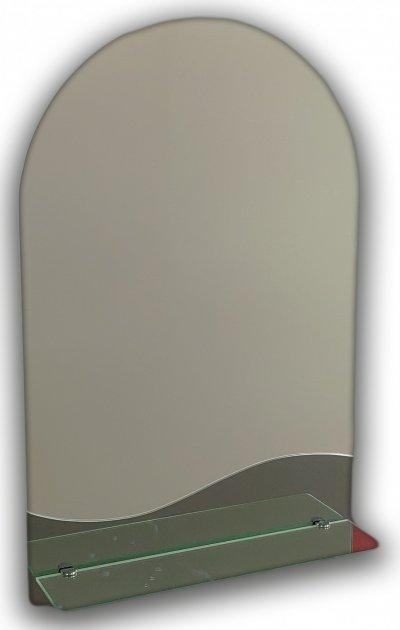Зеркало в ванную с полочкой Seria A №38 690х450х120 мм - изображение 1