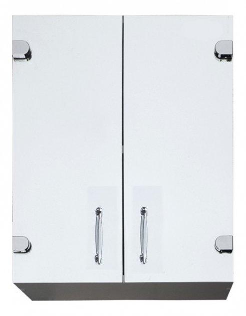 Шкаф в ванную Seria A № А05-60 с прямыми зеркальными фасадами - изображение 1