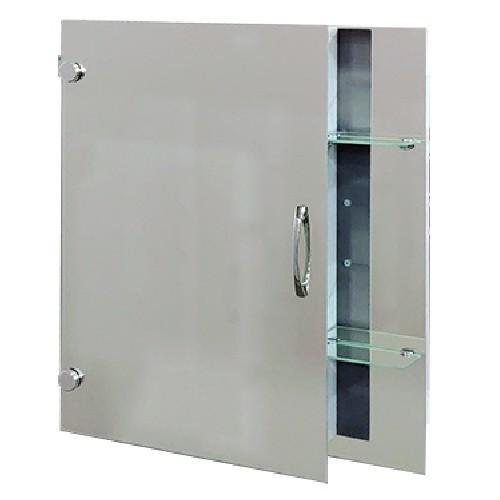 """Зеркальный шкаф с боковыми полками Seria A """"Эконом"""" №55 (650 x 550 x 130) - изображение 1"""