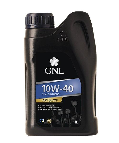 Моторное масло GNL Semi-Synthetic 10W-40 SL/CF 1л - изображение 1