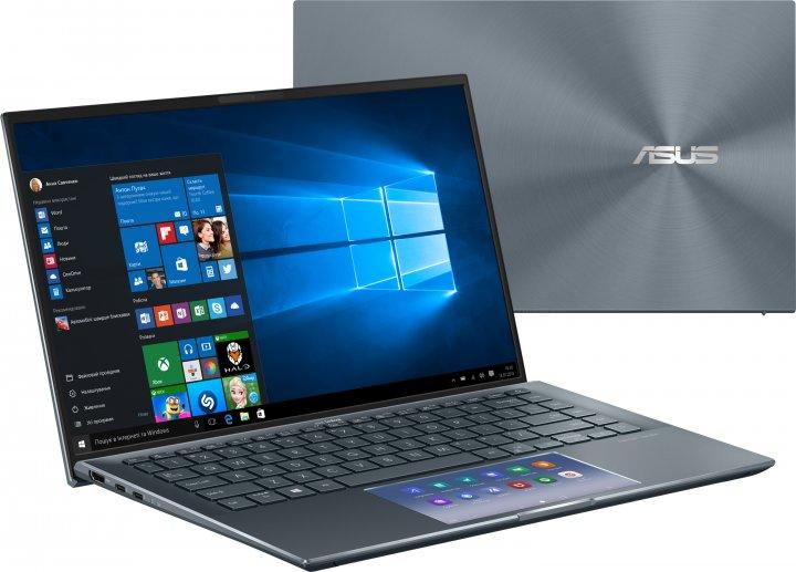 Ноутбук Asus ZenBook 14 UX435EG-A5100T (90NB0SI1-M01740) Pine Grey - зображення 1
