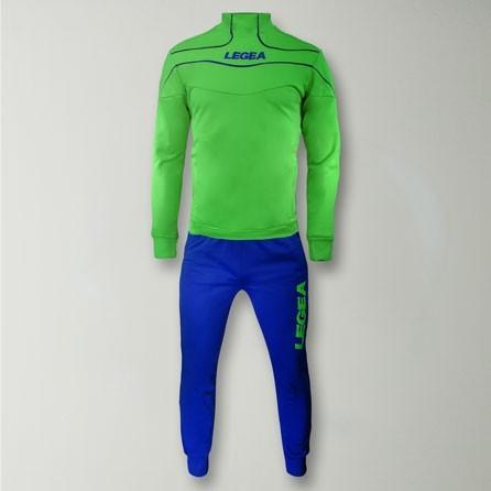 Тренировочный костюм Legea Tuono Nigeria T078 S Green - изображение 1