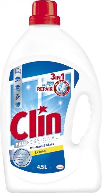 Средство для мытья окон и стекла Clin професcиональный 4.5 л (9000100205245) - изображение 1
