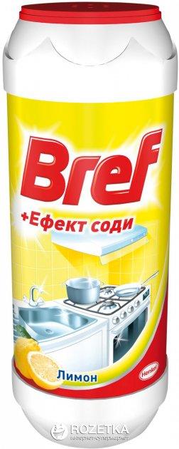 Порошок для чистки Bref + Эффект соды Лимон 500 г (9000100254953) - изображение 1