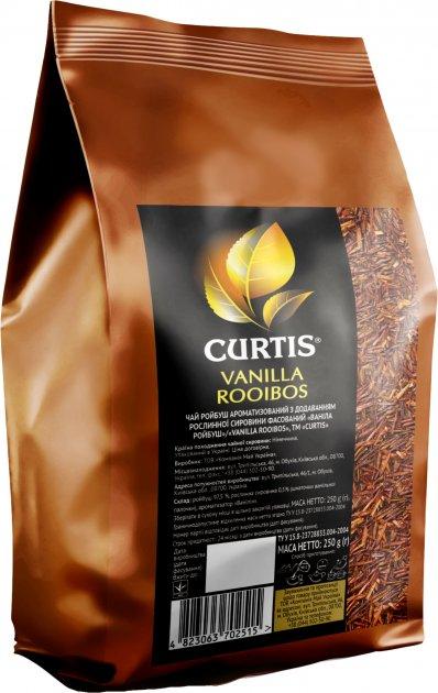 Чай ройбуш крупнолистовий Curtis Vanilla Rooibos 250 г (4823063702515) - зображення 1