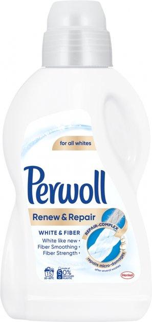 Средство для деликатной стирки Perwoll Advanced White 0.9 л (9000101327304) - изображение 1