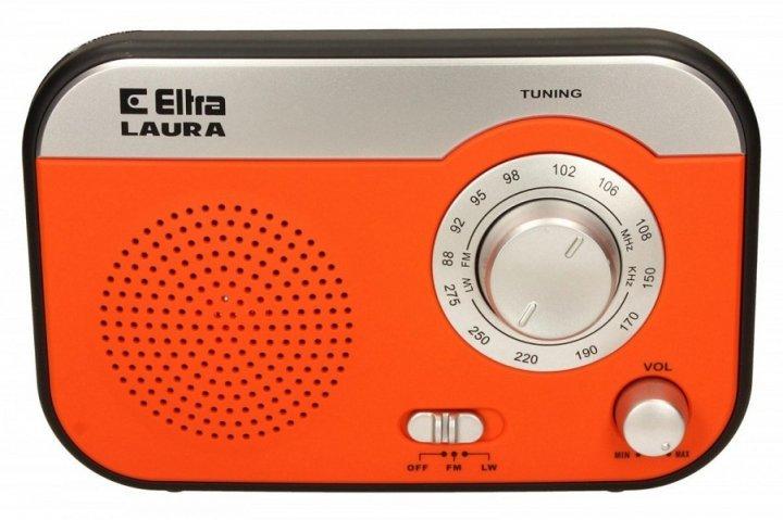 Радіоприймач Eltra Laura помаранчевий (JS771) - зображення 1