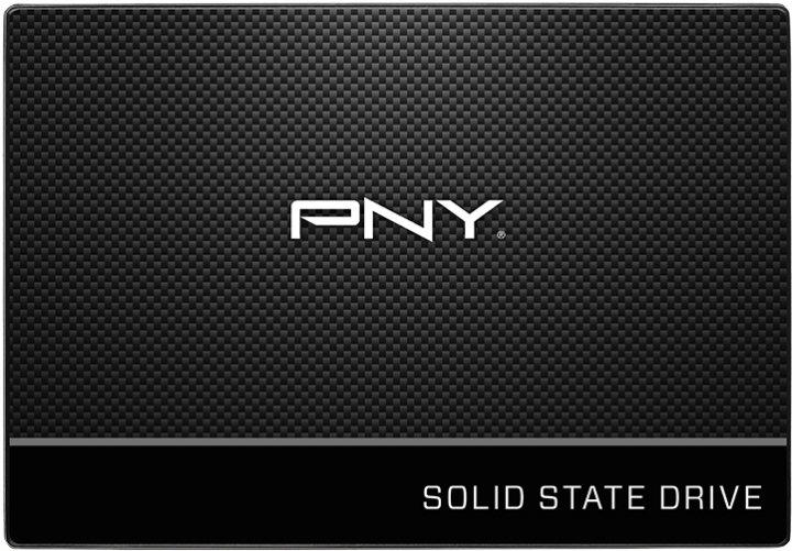 """Накопичувач SSD 480Gb PNY CS900, SATA3, 2.5"""", TLC, 555/470 MB/s (SSD7CS900-480-PB) - зображення 1"""