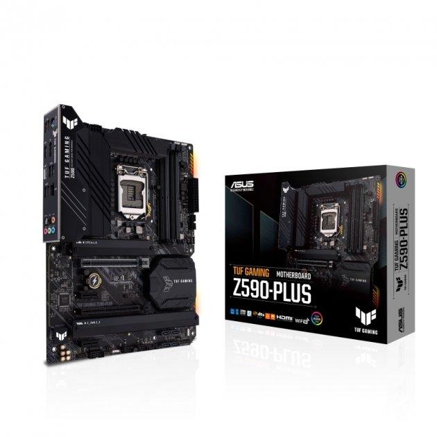Материнская плата Asus TUF Gaming Z590-Plus Socket 1200 - зображення 1