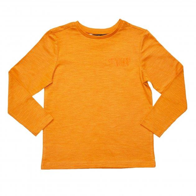 Футболка с длинным рукавом для мальчика ( 1 шт.) George оранжевая на весну 7-8 лет (122-128см) 1391 - изображение 1