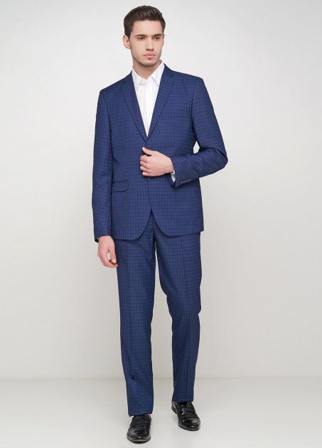 Мужской костюм Mia-Style MIA-296/03 46 темно-синий - изображение 1