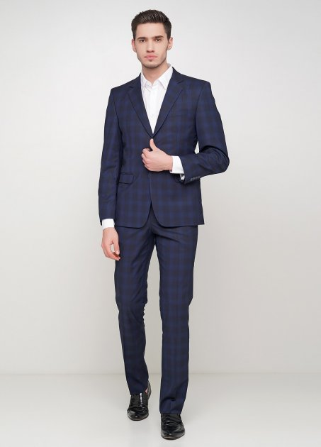 Мужской костюм Mia-Style MIA-300/01 52 темно-синий - изображение 1