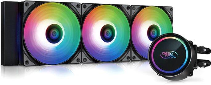 Система рідинного охолодження DeepCool Gammaxx L360 A-RGB - зображення 1