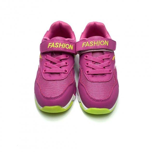 Кроссовки для девочек QQ Fashion 32 20,5 см Pink 8048 - изображение 1