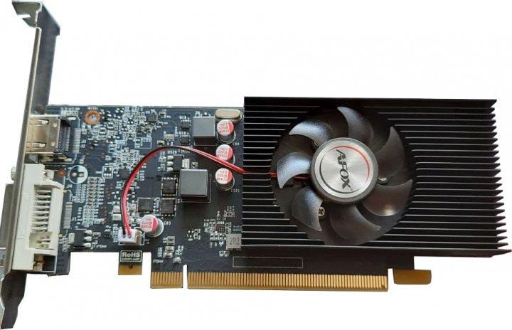 AFOX PCI-Ex GeForce GT1030 2GB GDDR5 (64bit) (1468/6000) (DVI, HDMI) (AF1030-2048D5L4-V3) - зображення 1