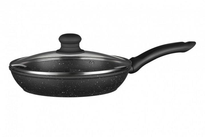 Сковорода с крышкой Ardesto Gemini Gourmet 26 см черный - изображение 1
