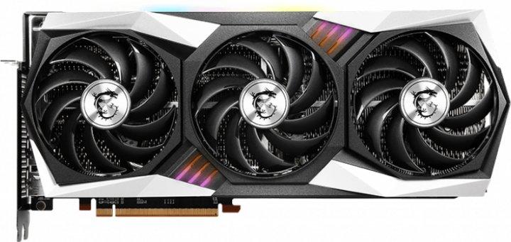 MSI PCI-Ex Radeon RX 6800 XT Gaming X TRIO 16G 16GB GDDR6 (256bit) (1850/16000) (HDMI, 3 x DisplayPort) (RX 6800 XT GAMING X TRIO 16G) - изображение 1