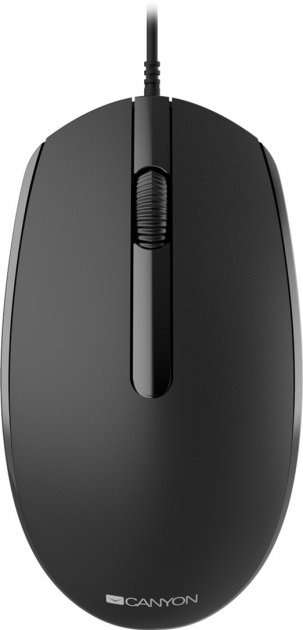 Миша Canyon M-10 (CNE-CMS10B) Black - зображення 1