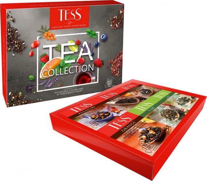 Чай пакетированный TESS Collection Набор ассорти 6 видов по 10 пакетиков (4823096807959) - изображение 1