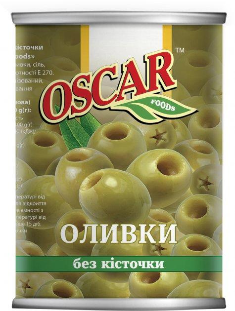 Оливки Oscar без косточки 400 г (8413552051406) - изображение 1