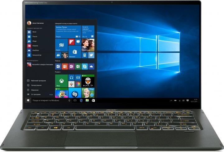 Ноутбук Acer Swift 5 SF514-55TA-75YH (NX.A6SEU.00A) Mist Green - зображення 1