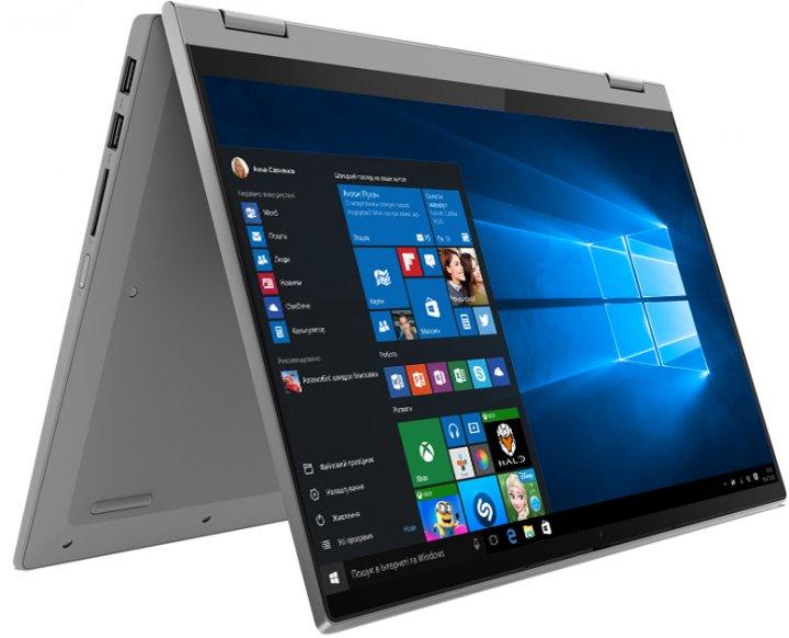 Ноутбук Lenovo IdeaPad Flex 5 14IIL05 (81X100NNRA) Platinum Grey - зображення 1