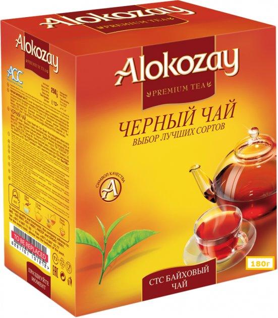 Чай черный Alokozay гранулированный 180 г (4820229040078) - изображение 1