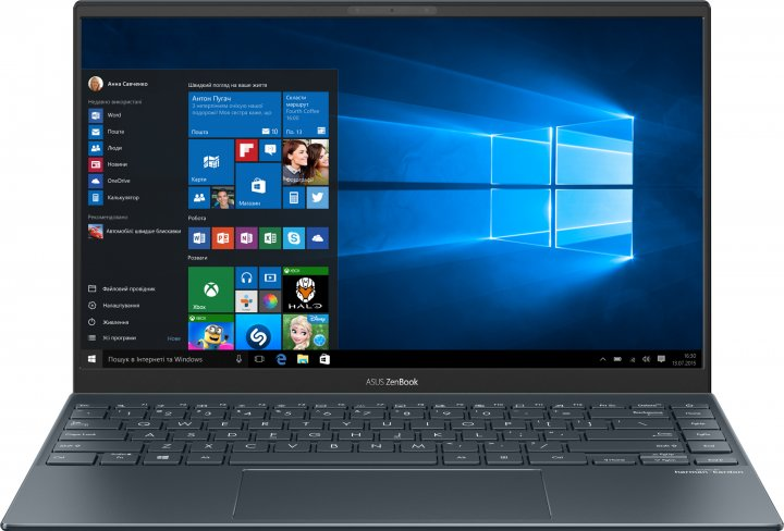 Ноутбук Asus ZenBook 14 UX425EA-BM143T (90NB0SM1-M04710) Pine Grey - зображення 1