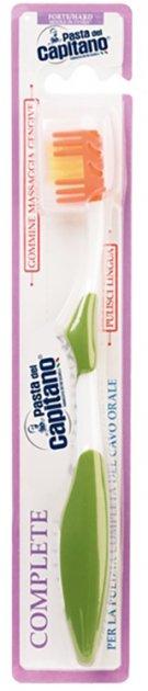 Зубная щетка Pasta del Capitano Complete Professional Комплит жесткая зеленая (8002140139406) - изображение 1