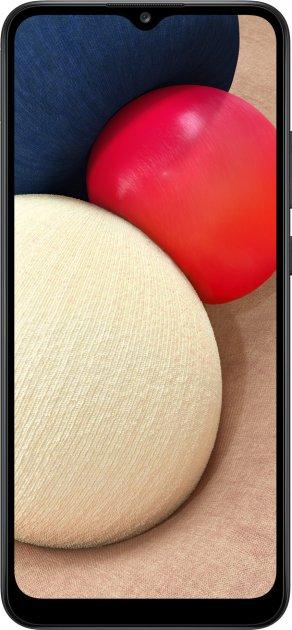 Мобильный телефон Samsung Galaxy A02s 3/32GB Black (SM-A025FZKESEK) - изображение 1