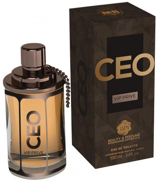 Туалетная вода для мужчин MB Parfums Ceo Vip Prive For Men 100 мл (6291107928685) - изображение 1