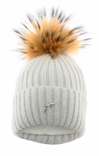 Зимняя шапка Elf-kids Айова 48-50 см Серая (ROZ6400026458) - изображение 1