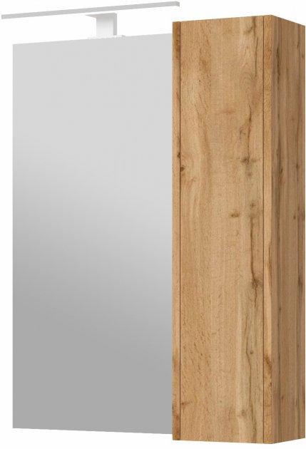 Зеркальный шкаф JUVENTA Bronx BrxMC-65 дуб вотан - изображение 1