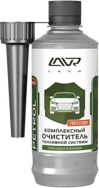 Комплексний очисник паливної системи LAVR присадка в бензин на 40-60 л 310 мл (Ln2123) - зображення 1