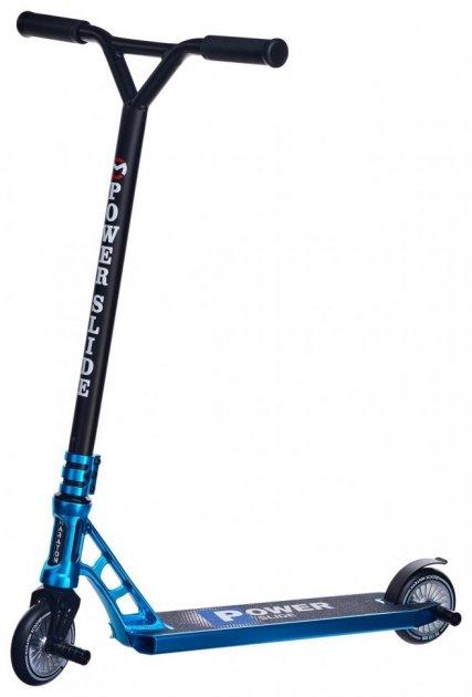 Трюковий самокат Maraton PowerSlide синій + пеги - зображення 1