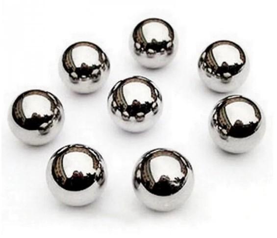 Кульки для рогатки 8 мм (100 штук) Сталеві - зображення 1