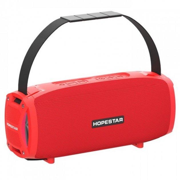 Портативна Bluetooth колонка Hopestar H24 Pro Red - зображення 1