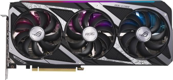 Asus PCI-Ex GeForce RTX 3060 ROG Strix Gaming OC 12GB GDDR6 (192bit) (2 x HDMI, 3 x DisplayPort) (ROG-STRIX-RTX3060-O12G-GAMING) - изображение 1
