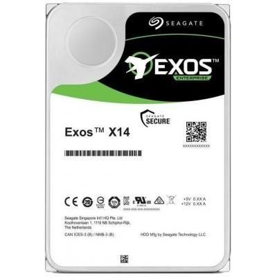 """Жесткий диск Seagate Exos X14 12TB 7200rpm 256MB ST12000NM0008 3.5"""" SATA III - изображение 1"""