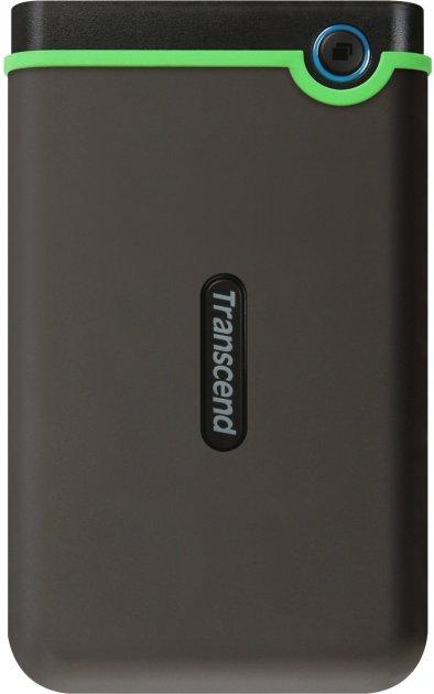 """Жорсткий диск Transcend StoreJet 25M3S 1TB TS1TSJ25M3S 2.5"""" USB 3.1 Gen 1 External Iron Gray - зображення 1"""