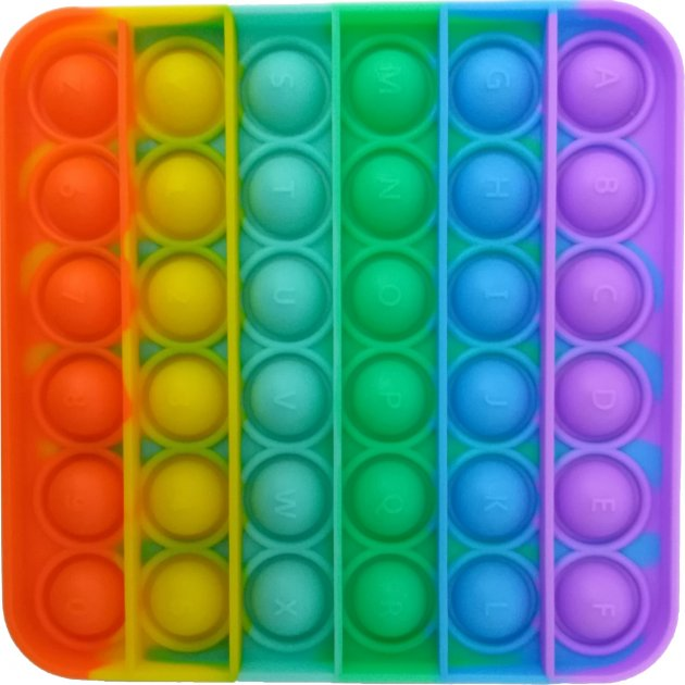 Игрушка-антистресс Maya Toys Pop-It Нажми шарик (1772-1) (4812501174885)