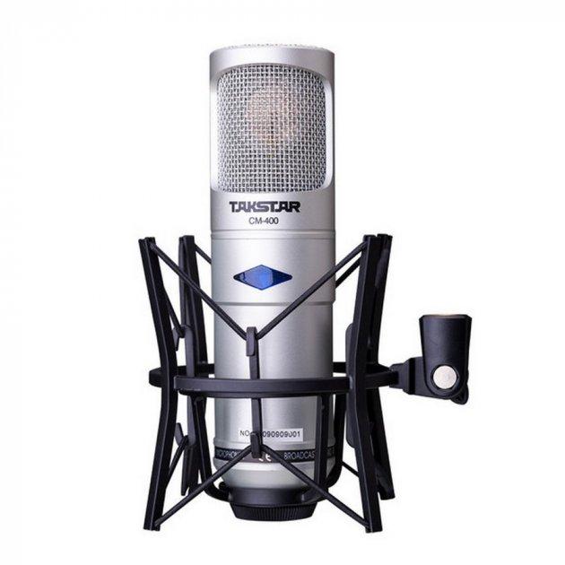 Студийный конденсаторный ламповый микрофон Takstar CM-400-L (1517) - изображение 1