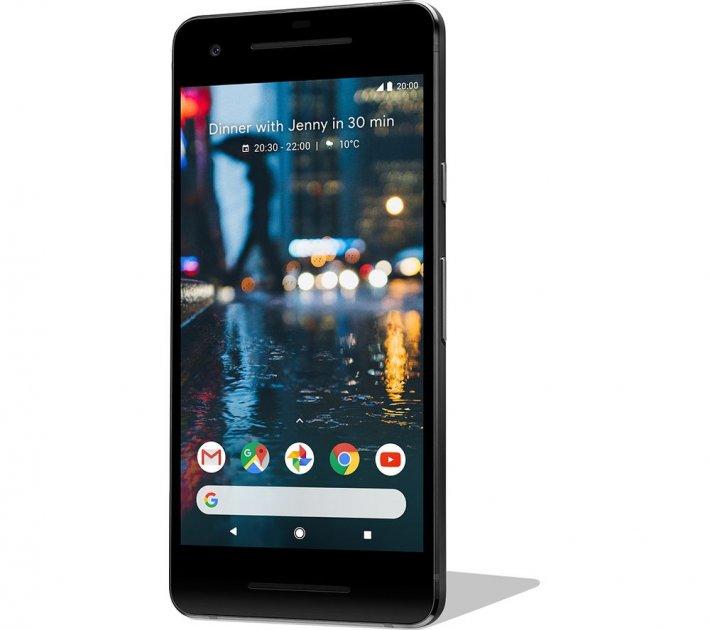 Смартфон Google Pixel 2 64Gb Just Black Seller Refurbished - зображення 1
