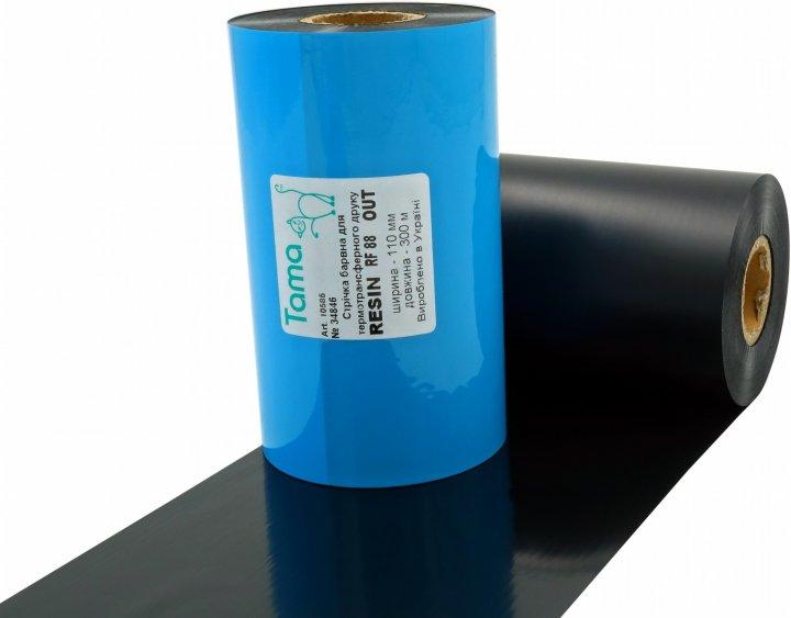 Риббон Tama Resin RF88 110 мм x 300 м Out (10585)