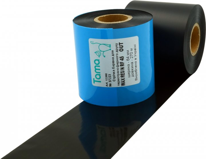 Риббон Tama WAX/Resin RF45 64 мм x 270 м Out (13390)