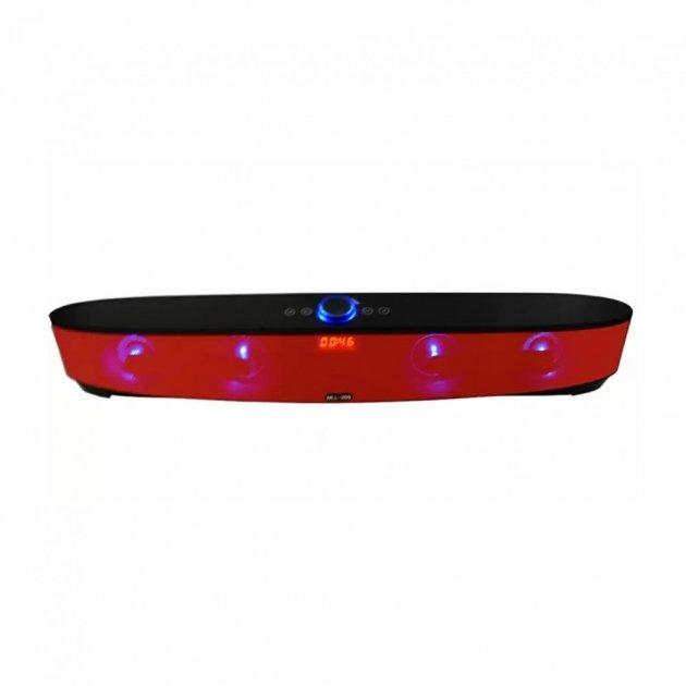 Мощная портативная акустическая стерео колонка (акустическая система) Hopestar MLL-209 Bluetooth USB FM Красная - зображення 1