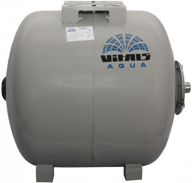 Гидроаккумулятор Vitals 80 л aqua UTH 80 (87695T) - изображение 1