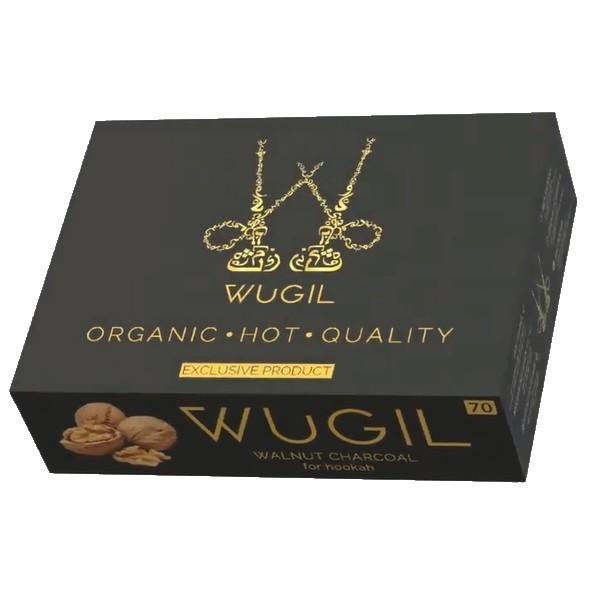 Вугілля для кальяну WUGIL gold з горіхової шкаралупи 1,1 кг - зображення 1